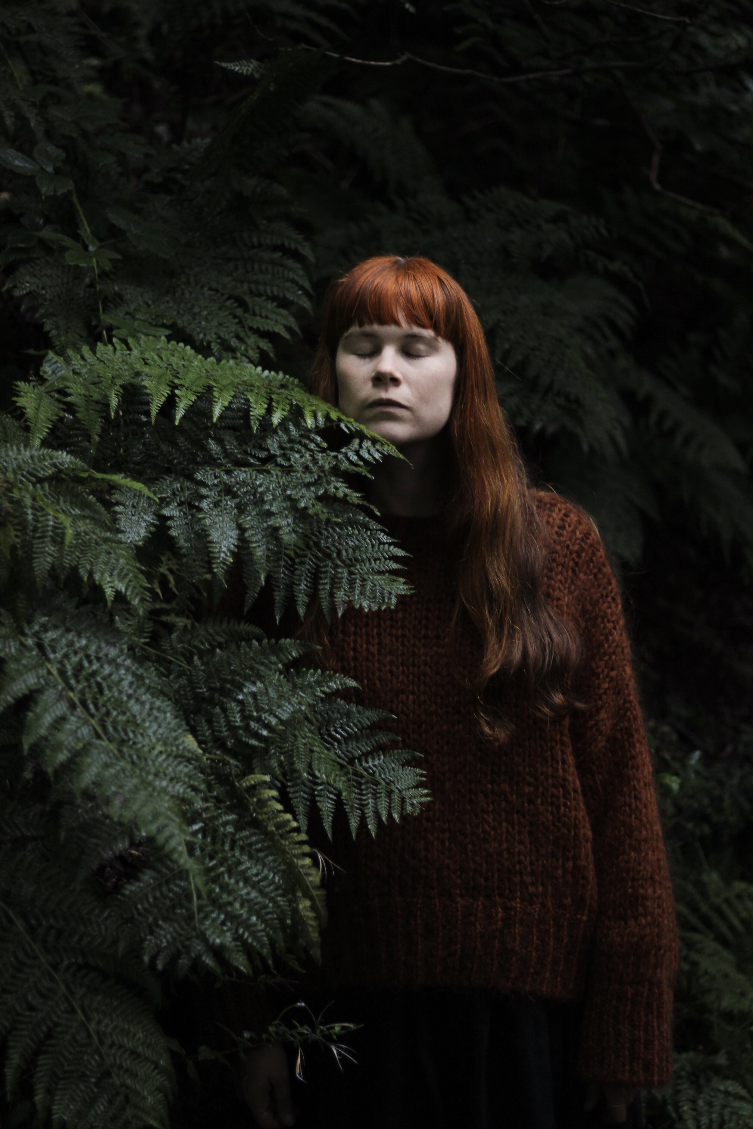 Girl and Ferns | Field +Nest