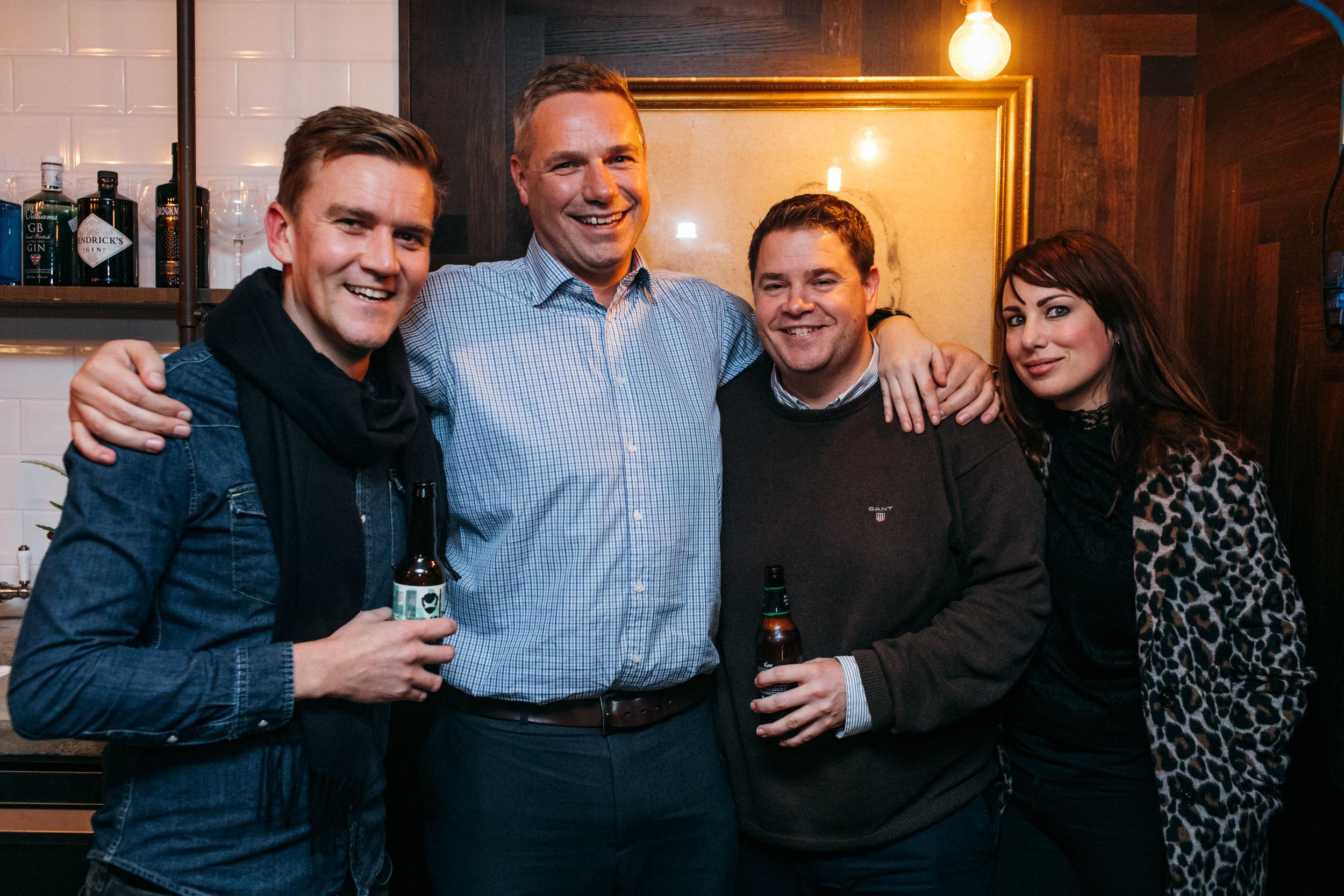 Olly, Dan, Luke and Dara
