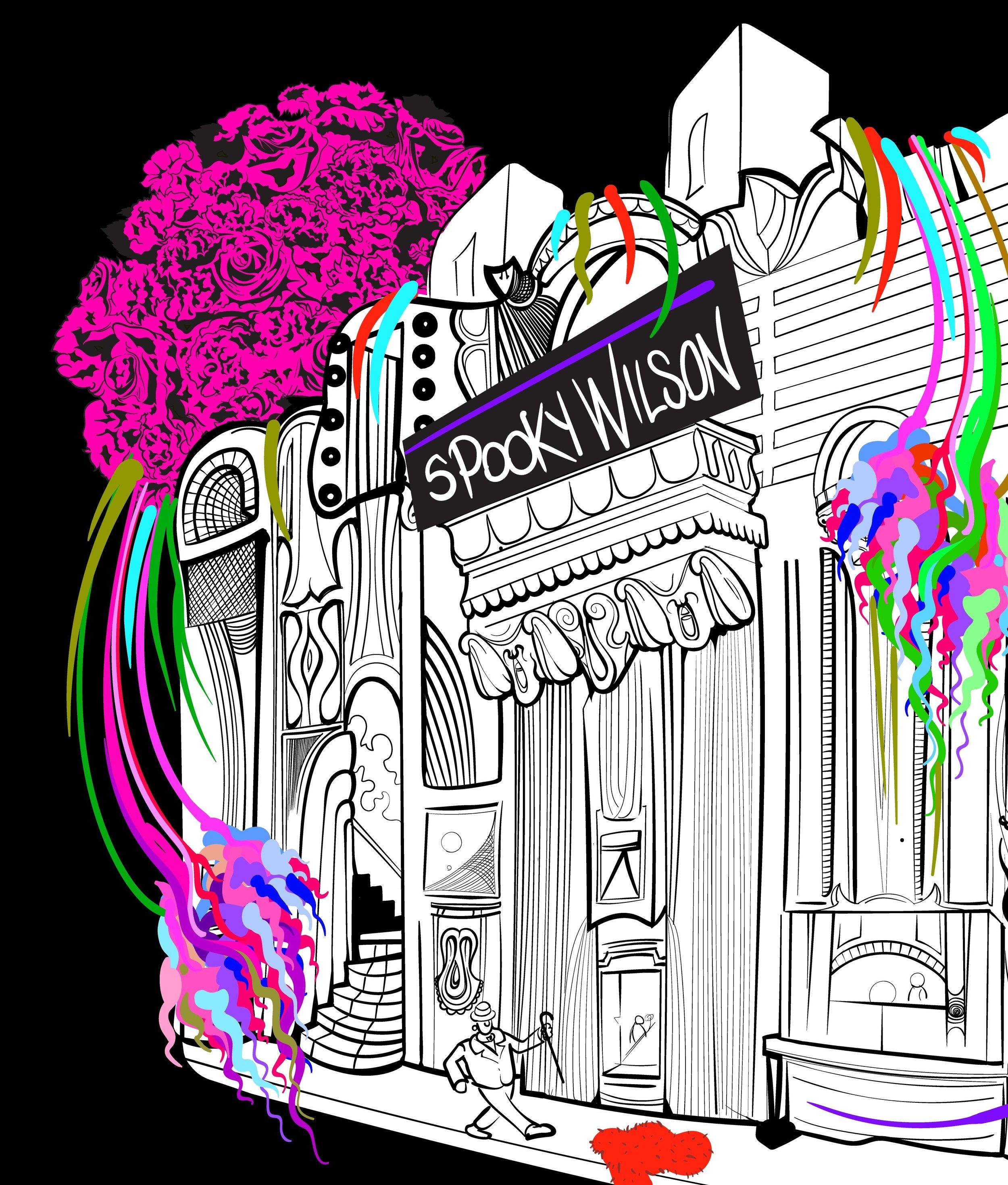 Spooky Wilson - Flame