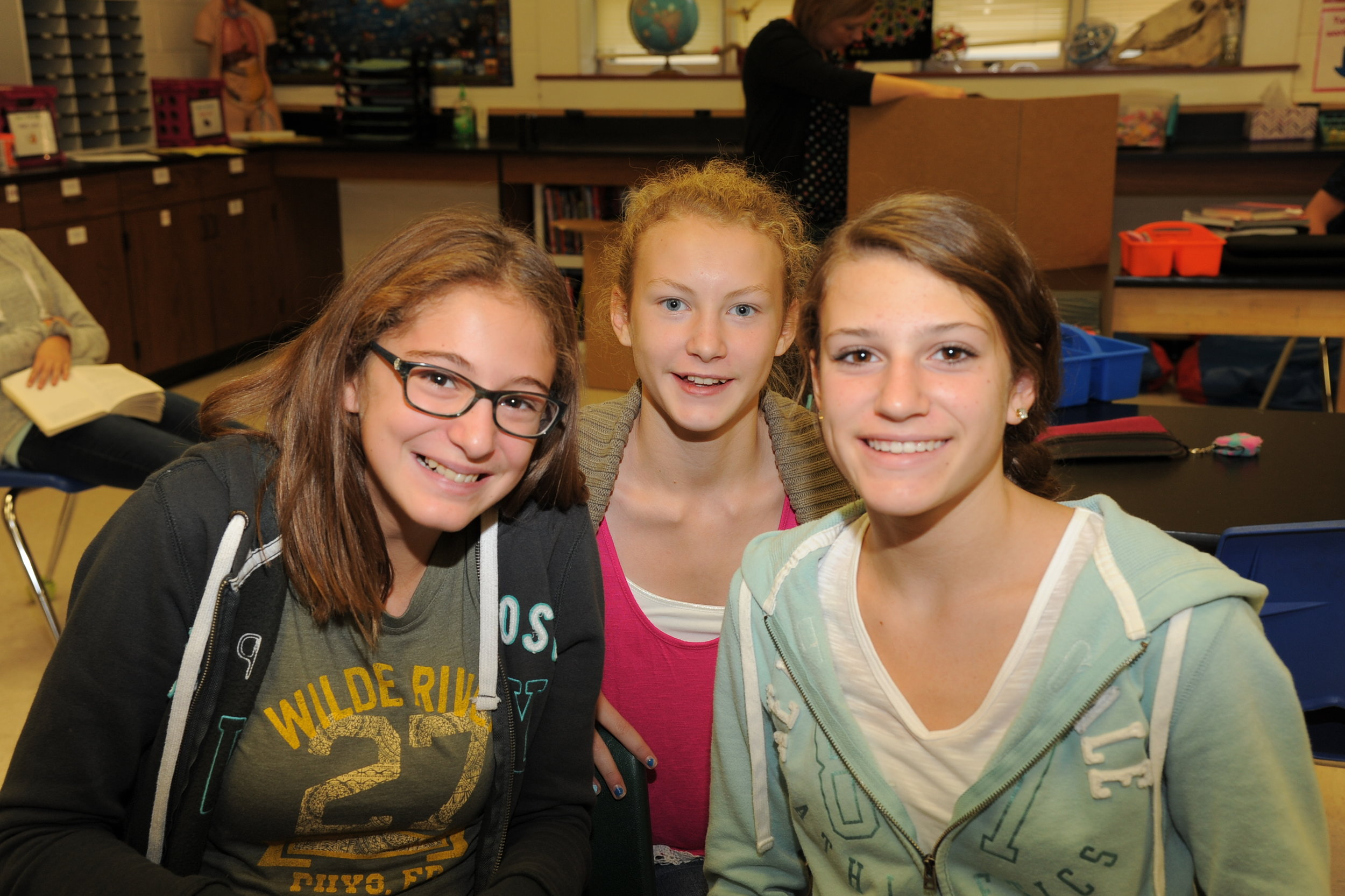 """On February 17, 2017, St. John Lutheran School conducted our annual """"Pizza Fundraiser."""" Members of our school and our congregation get together annually to make over 4,500 ready to bake pizzas. The proceeds from the sale benefit special projects in our school. This year's proceeds will go towards putting new flooring in all our classrooms. It's one of the many ways that our school community pulls together to make us stronger."""