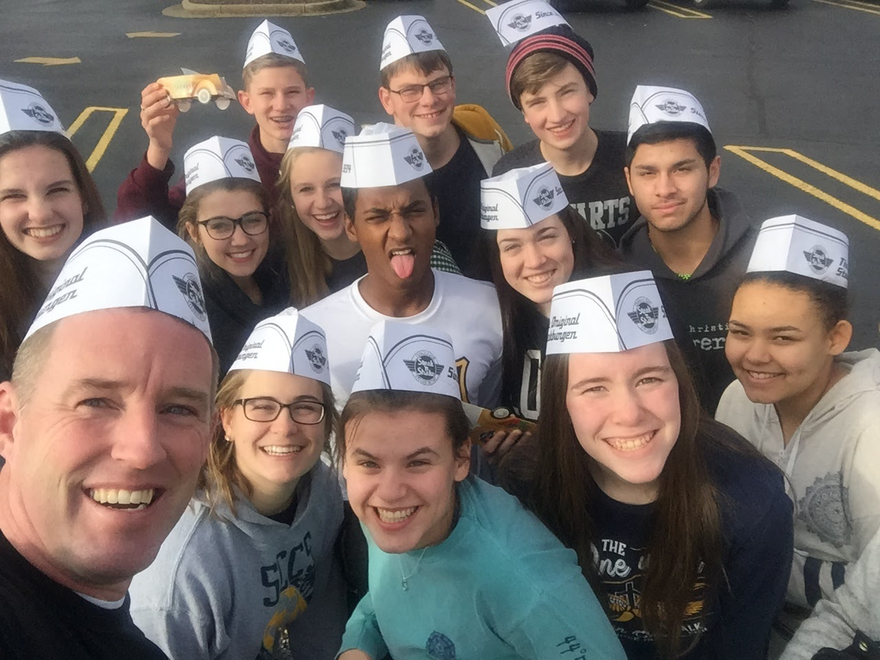 The week stared out early for this team  of students and teachers  who traveled to Atlanta to serve at  Seven Bridges Mission. They spent their week ministering to the homeless bringing  food, clothing  and the love of God to  where the these people live such as under highway bridges and in abandoned buildings .