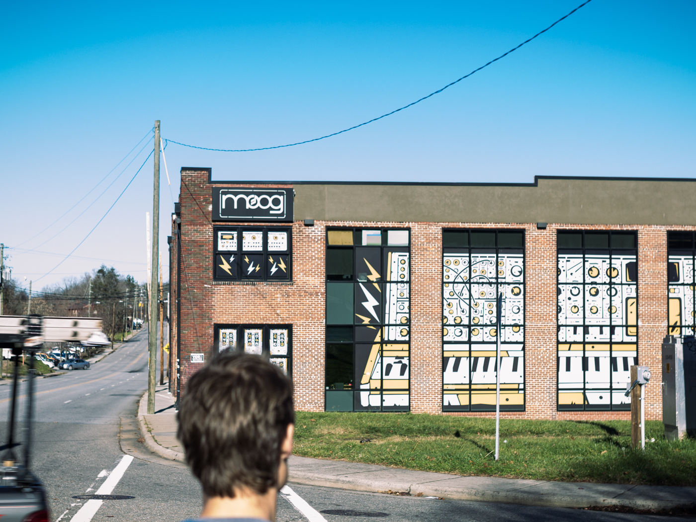 The world famous synthesizer manufacturer, Moog, is based out of Asheville.
