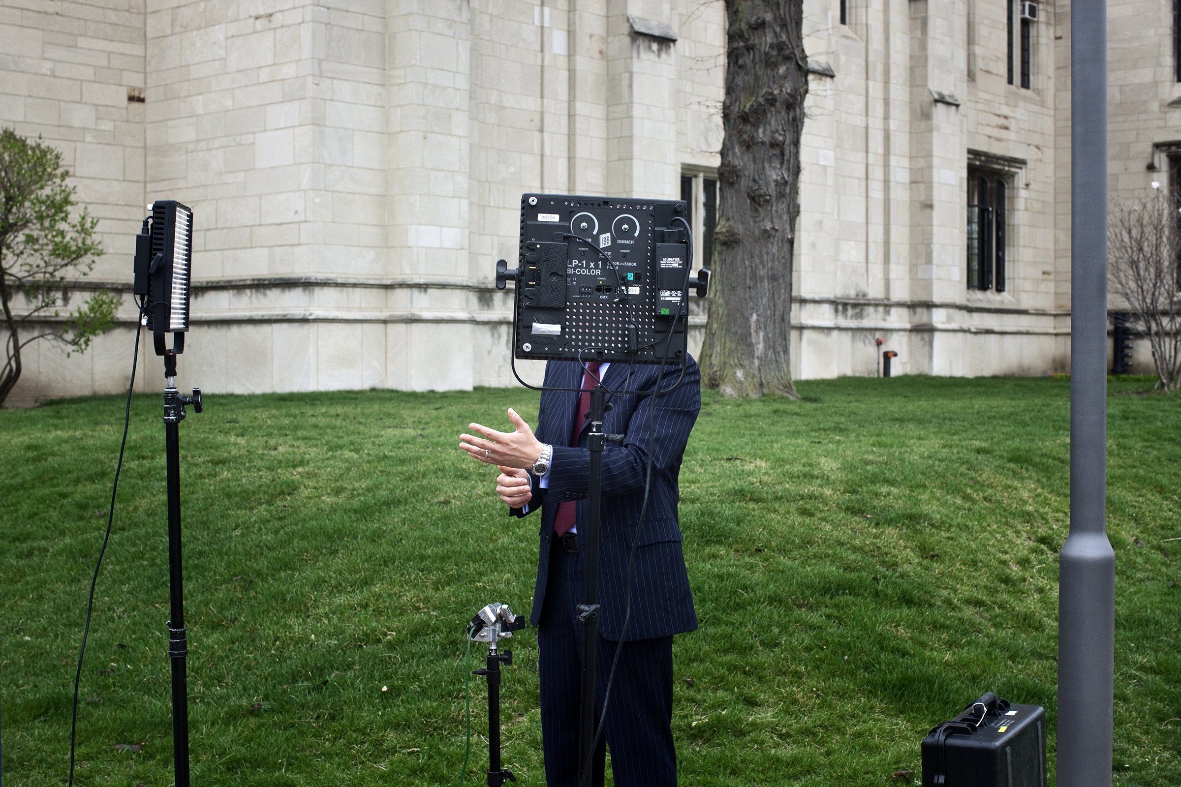 Reporter II , 2012 from the series  National Trust