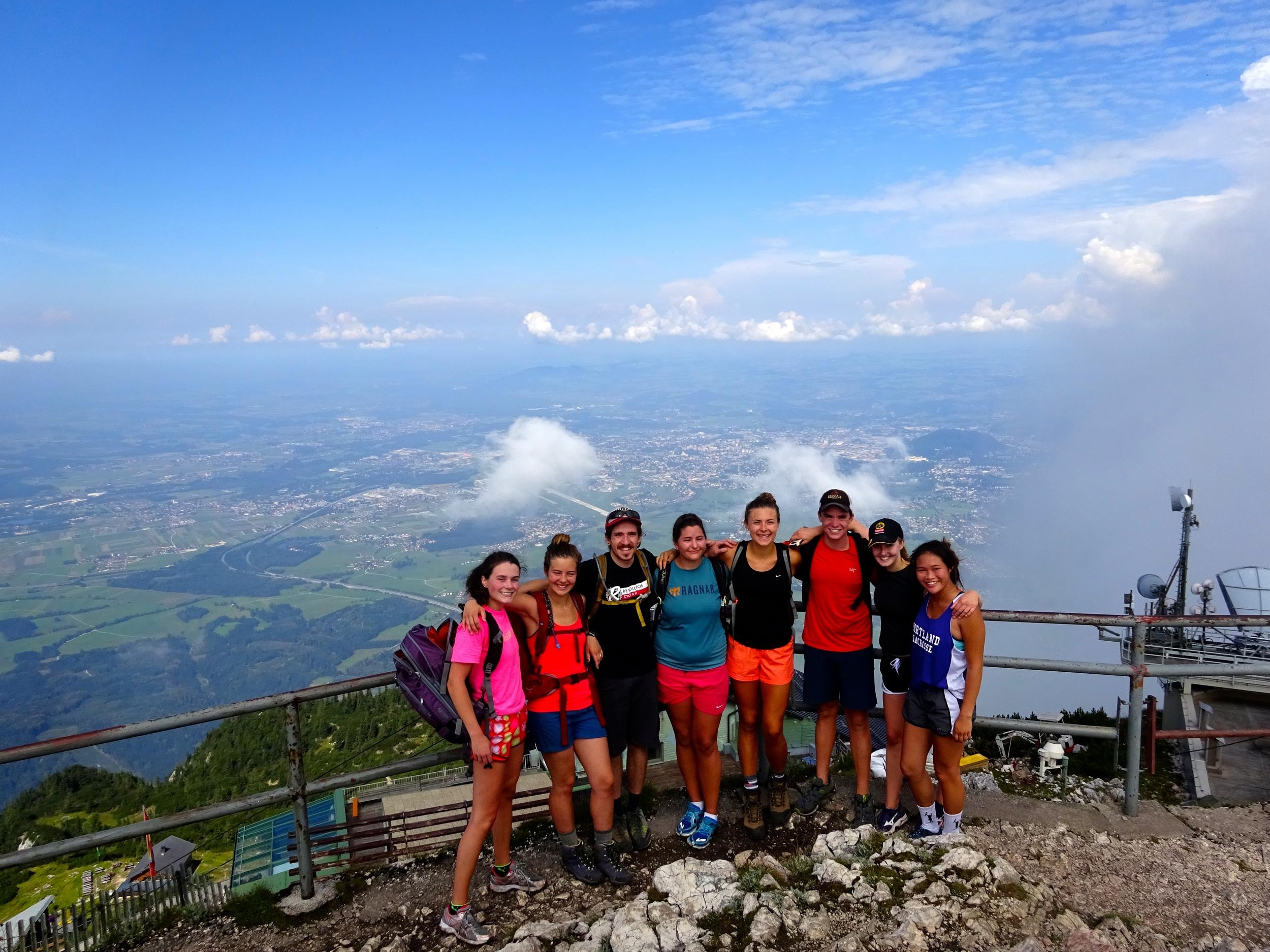 Top of Untersberg