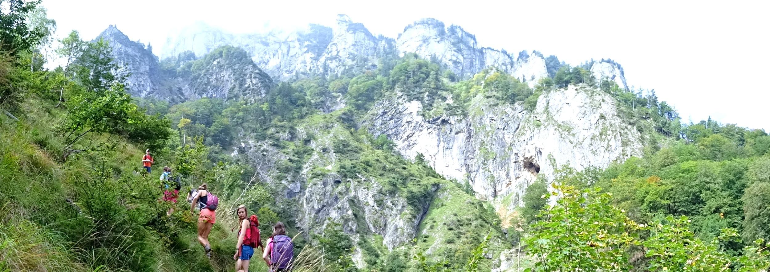 5 hours looking up at Untersberg