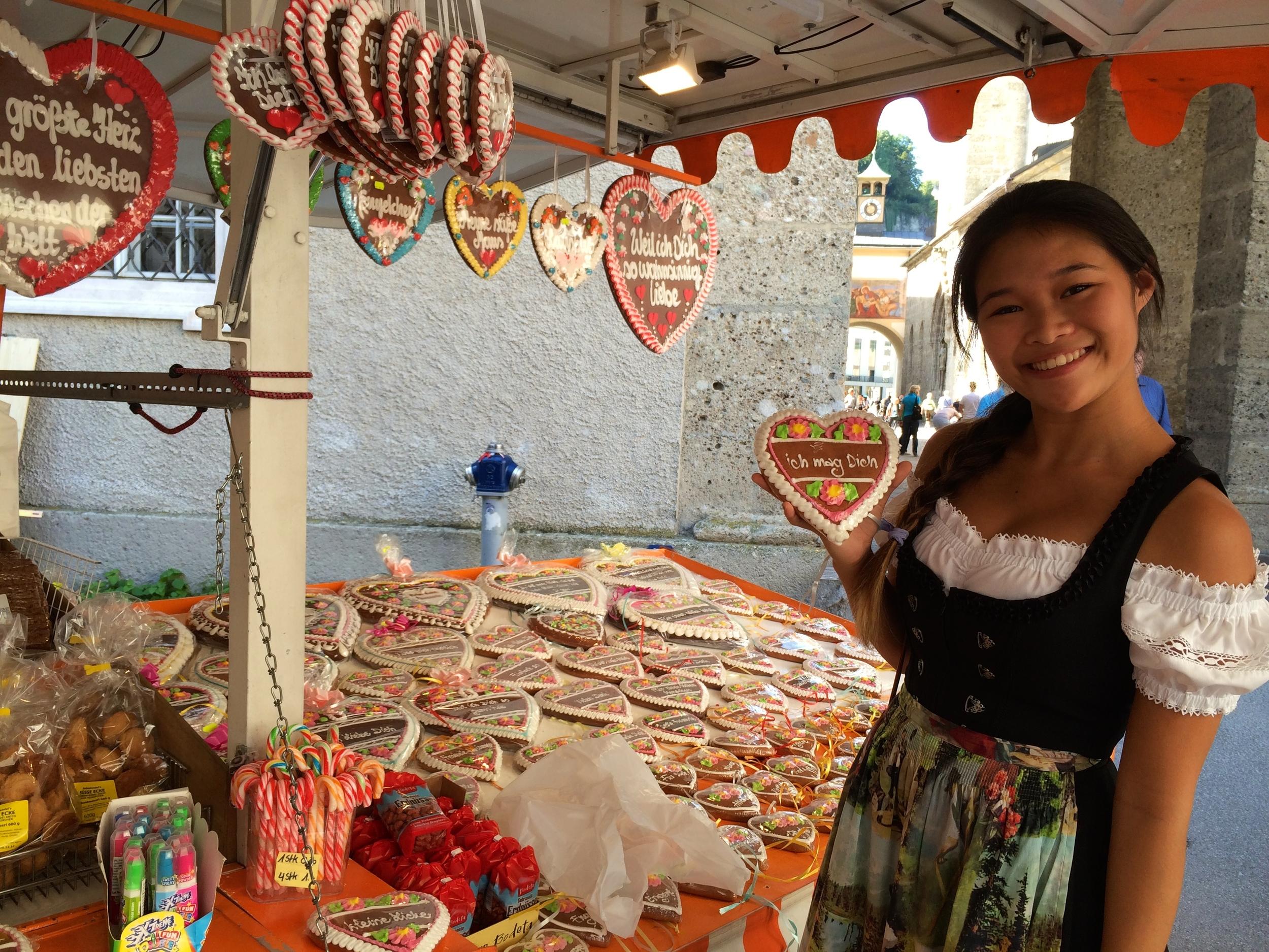 "St. Rupert's Fair - ""I like you"" Gingerbread Cookie"