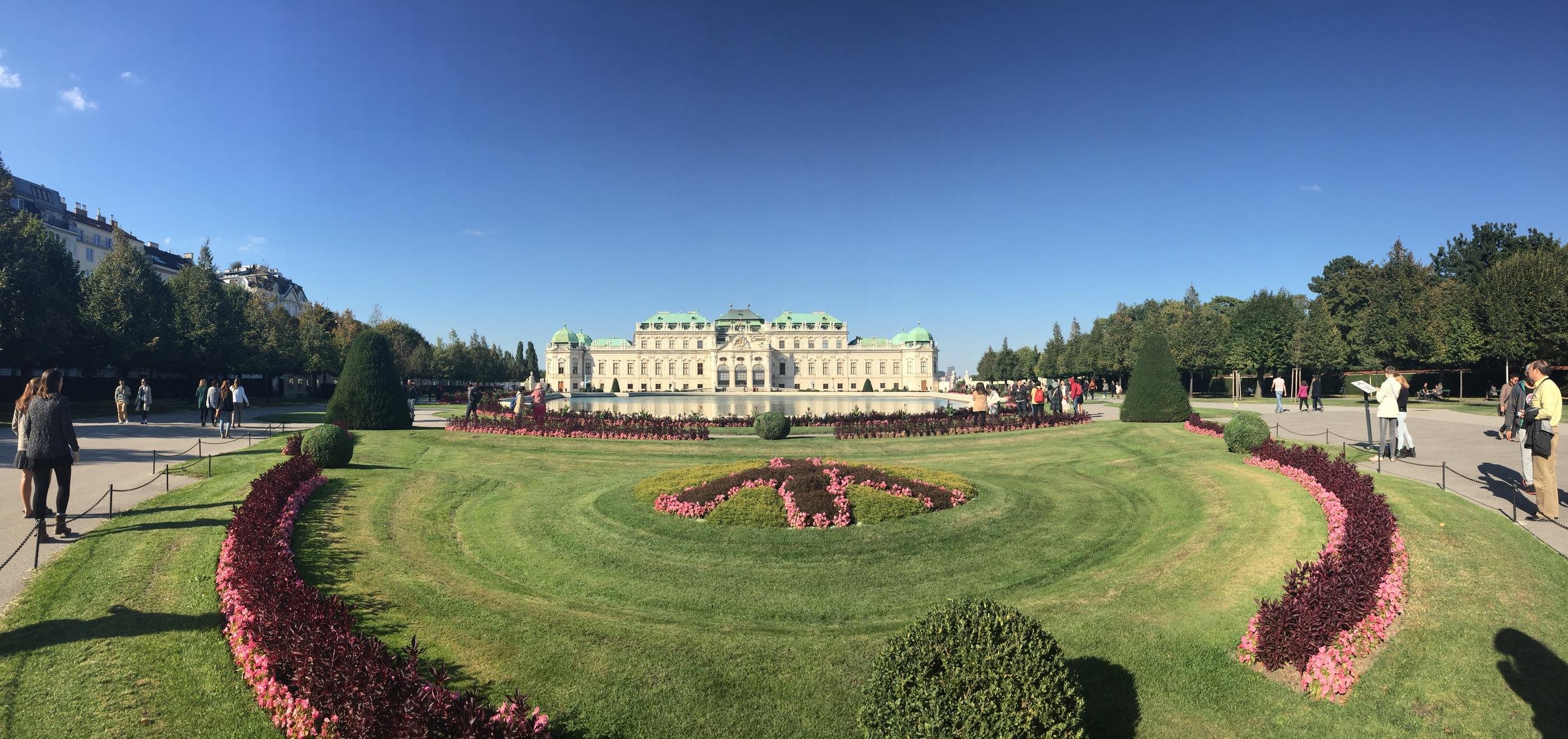 Schönnbrunn Palace, Vienna, Austria, by Molly McSweyen