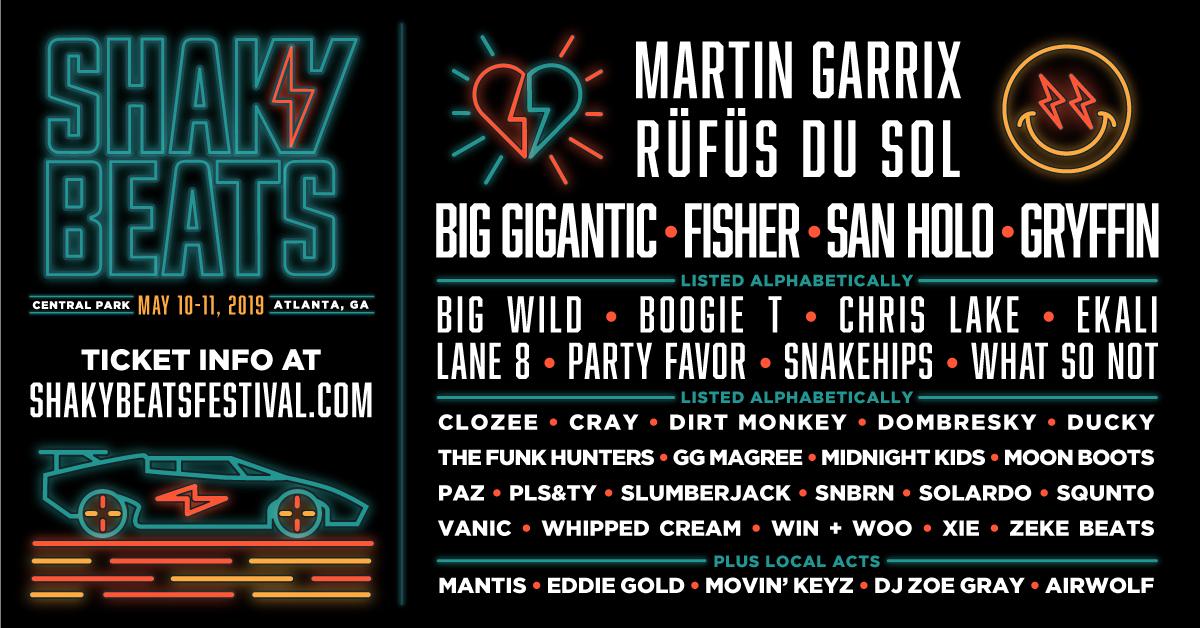 Big Wild at Shaky Beats | Atlanta, GA