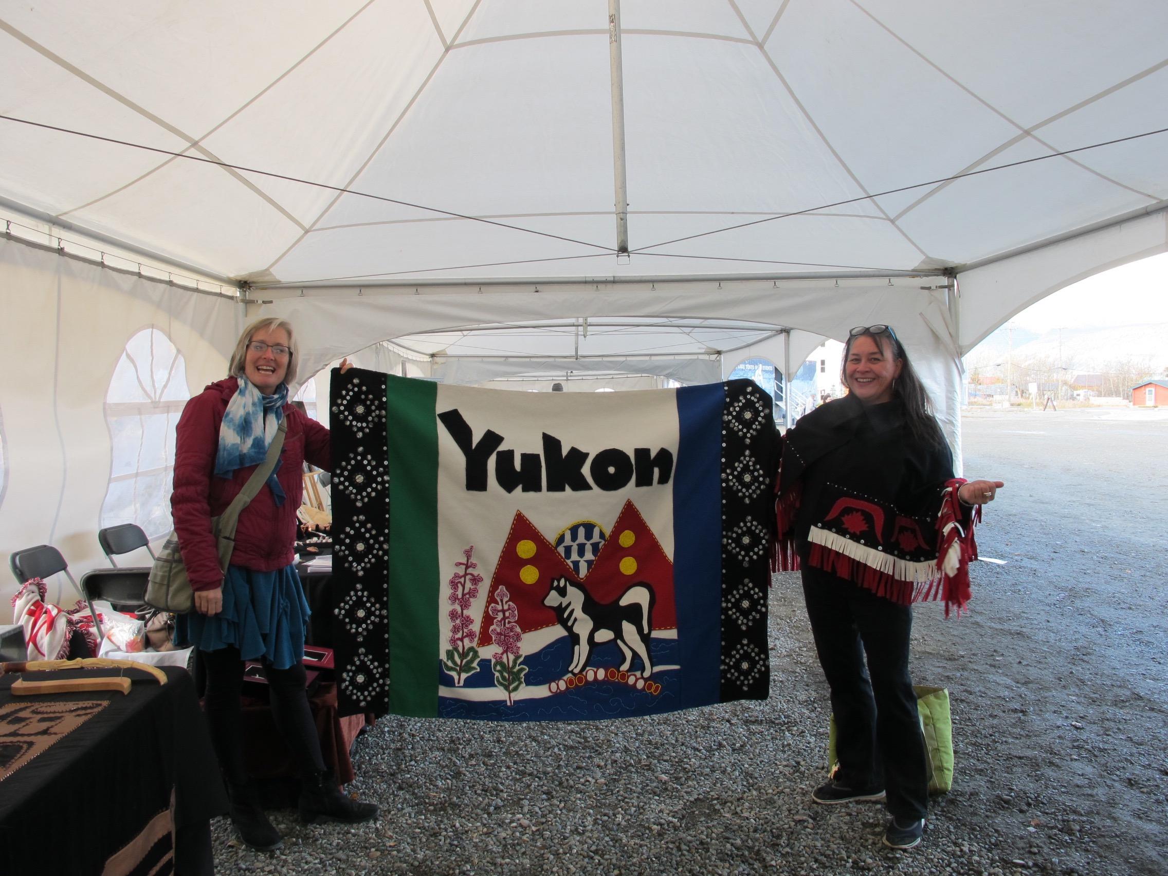 Rhoda Merkel's Yukon Button Blanket