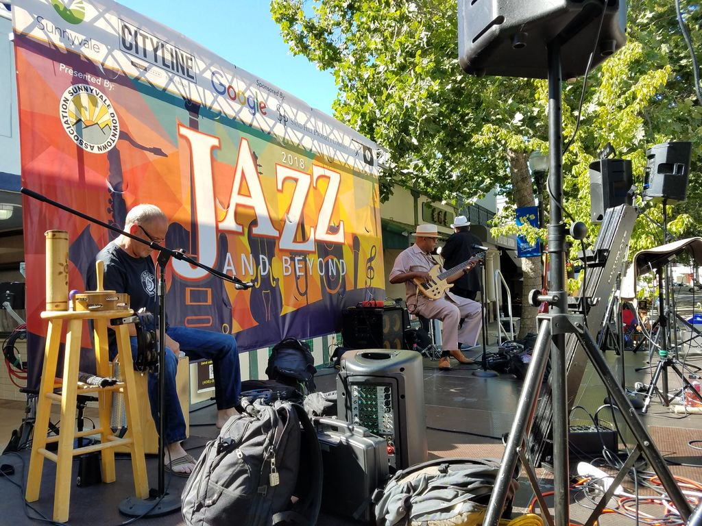 Jazz and Beyond Event in Downtown Sunnyvale, CA