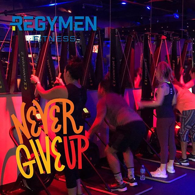 We won't give up on you 💪🏼 You bring the effort, we'll bring the motivation. You bring the consistency, and we'll deliver results-driven workouts that help you smash your goals. Come try your first workout for free! #nevergiveup