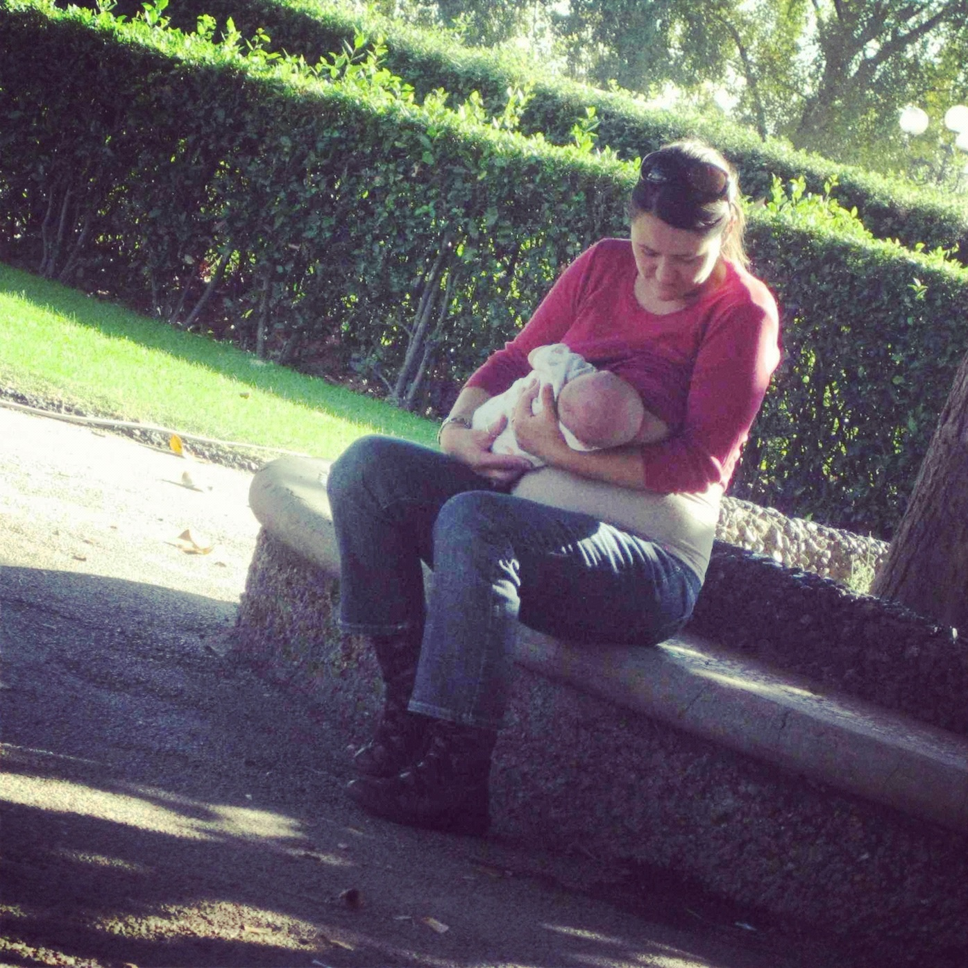 Me and Peanut in Cascine Park