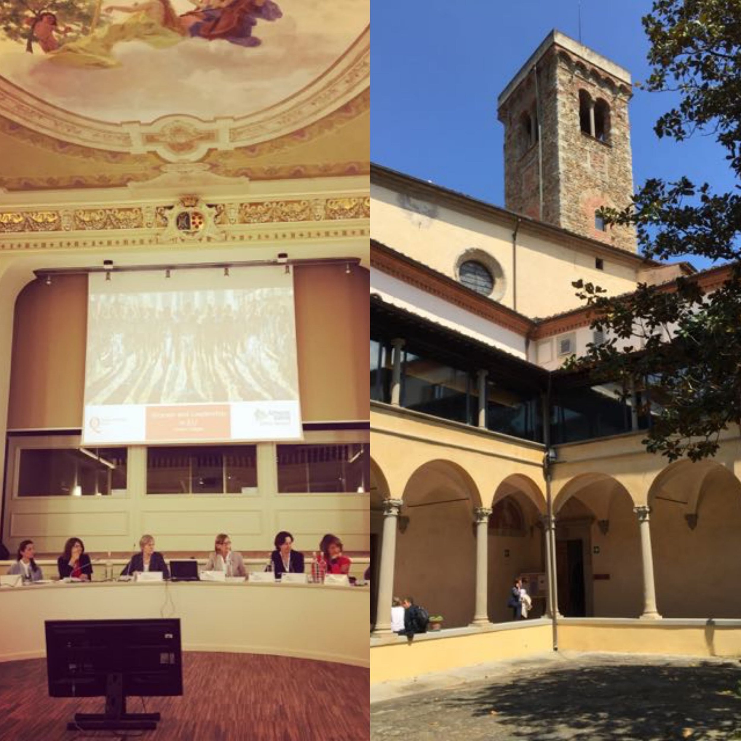 Women in Europe and the World conference in May 2016 at the gorgeous EUI in Fiesole.