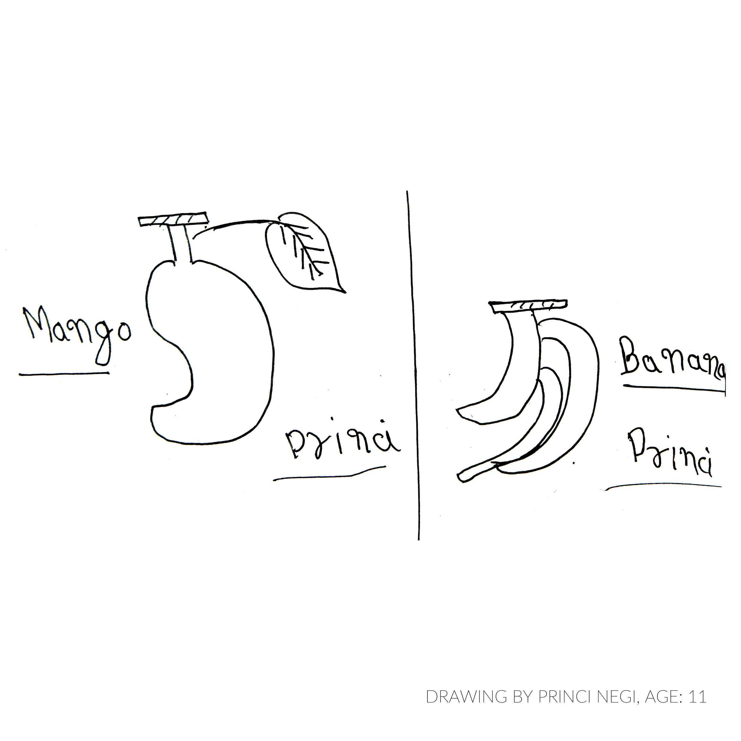 Drawing by Princi, age 11