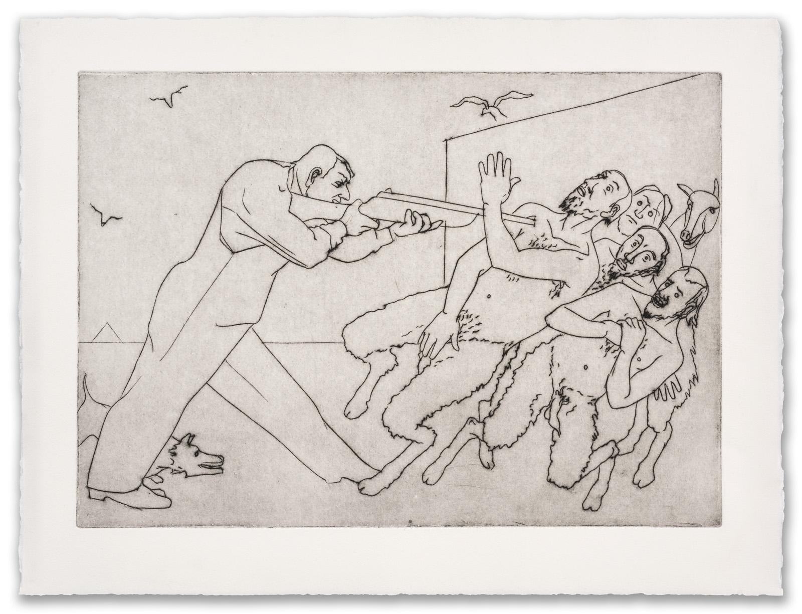 Francis West, (British 1936-2015), After Goya, c.1999 (2017 Edition).