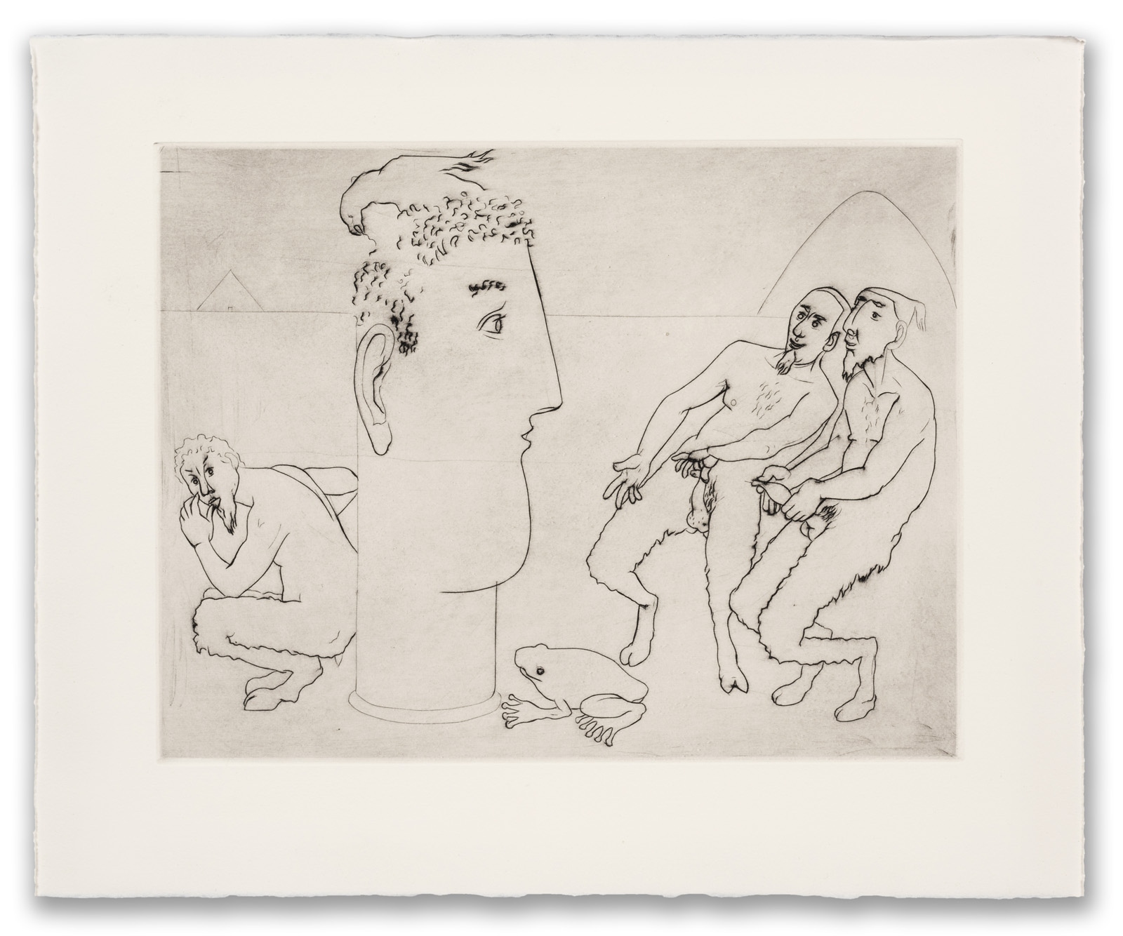 Francis West, (British 1936-2015), Satyrs Pissing on Apollo, c.1999 (2017 Edition).