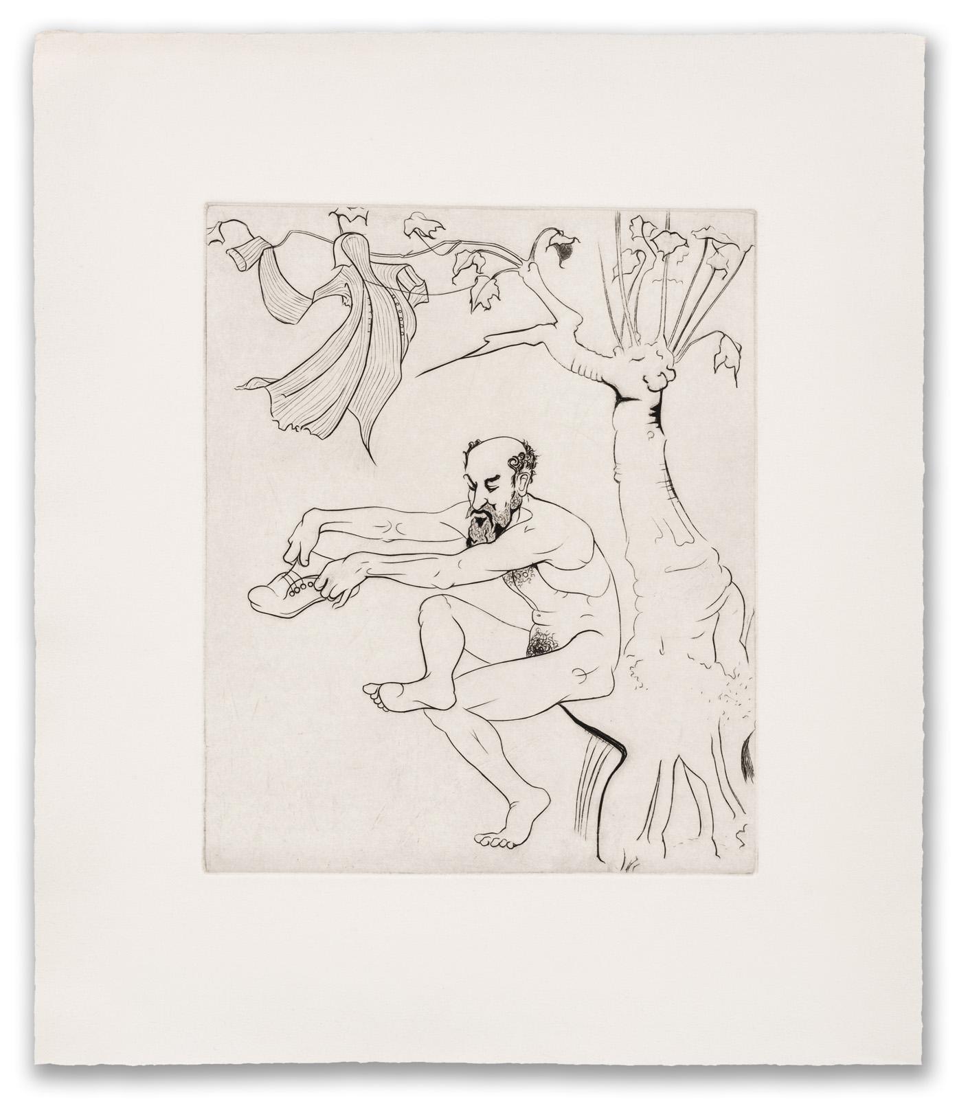 Francis West, (British 1936-2015), Jonah Returned, c.1979 (2017 Edition).
