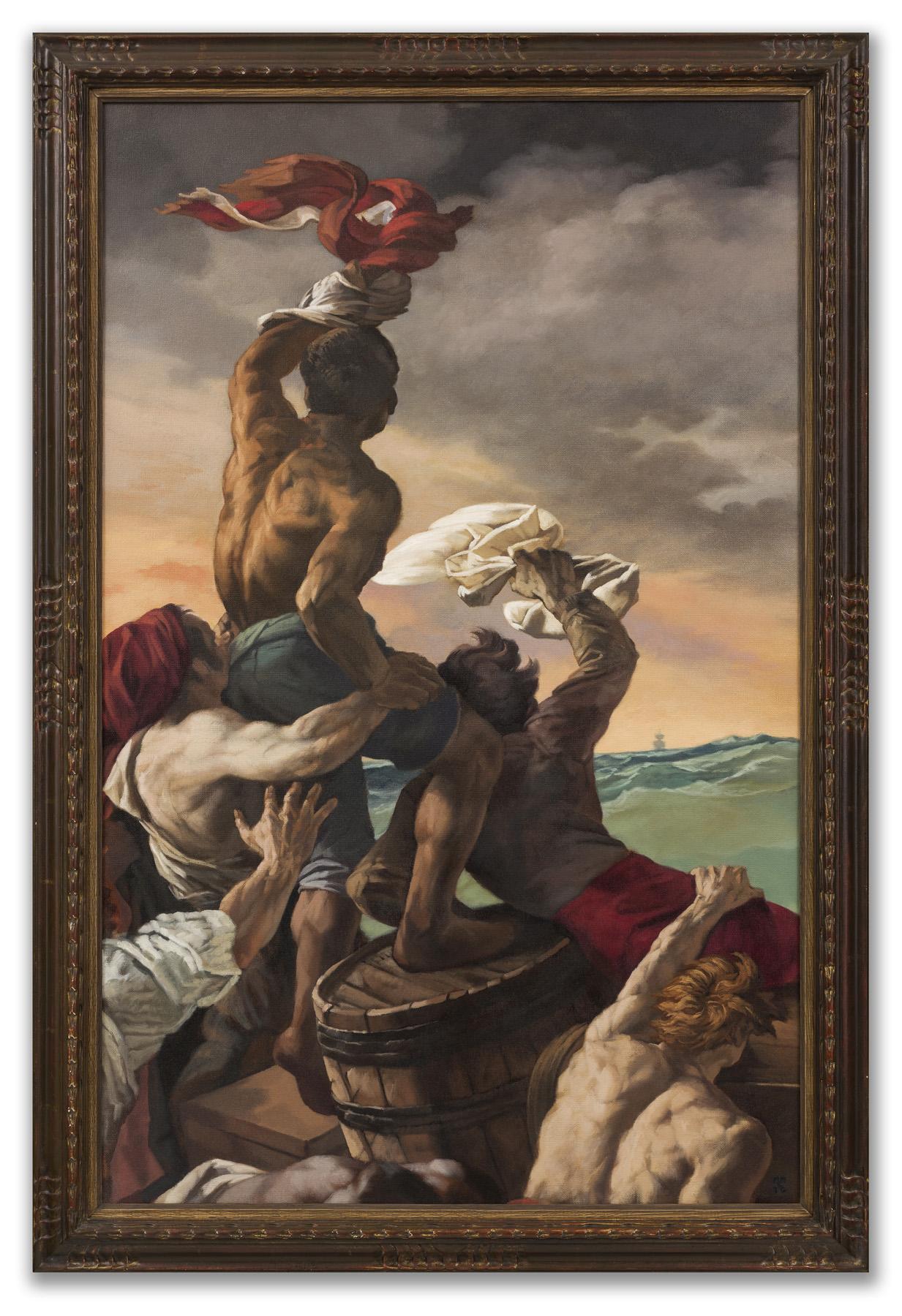 Michael Murfin, (British b.1954), Exploring Géricault, 2011.