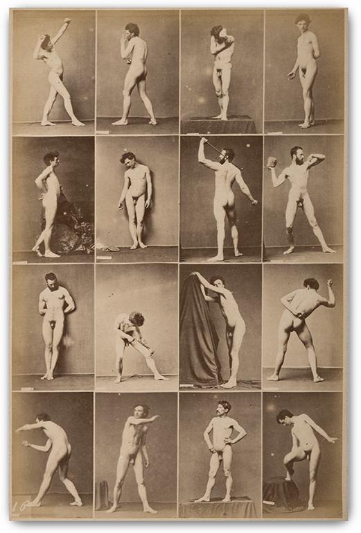 Louis Jean-Baptiste Igout, (French 1837-1881), 16 Academic Studies, c.1870s