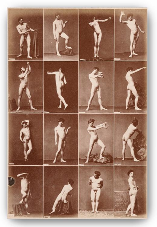 Louis Jean-Baptiste Igout, (French 1837-1881), 16 Academic Studies, c.1870s.