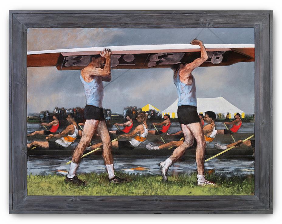 Michael Murfin, (British b.1954), Regatta, 1982.