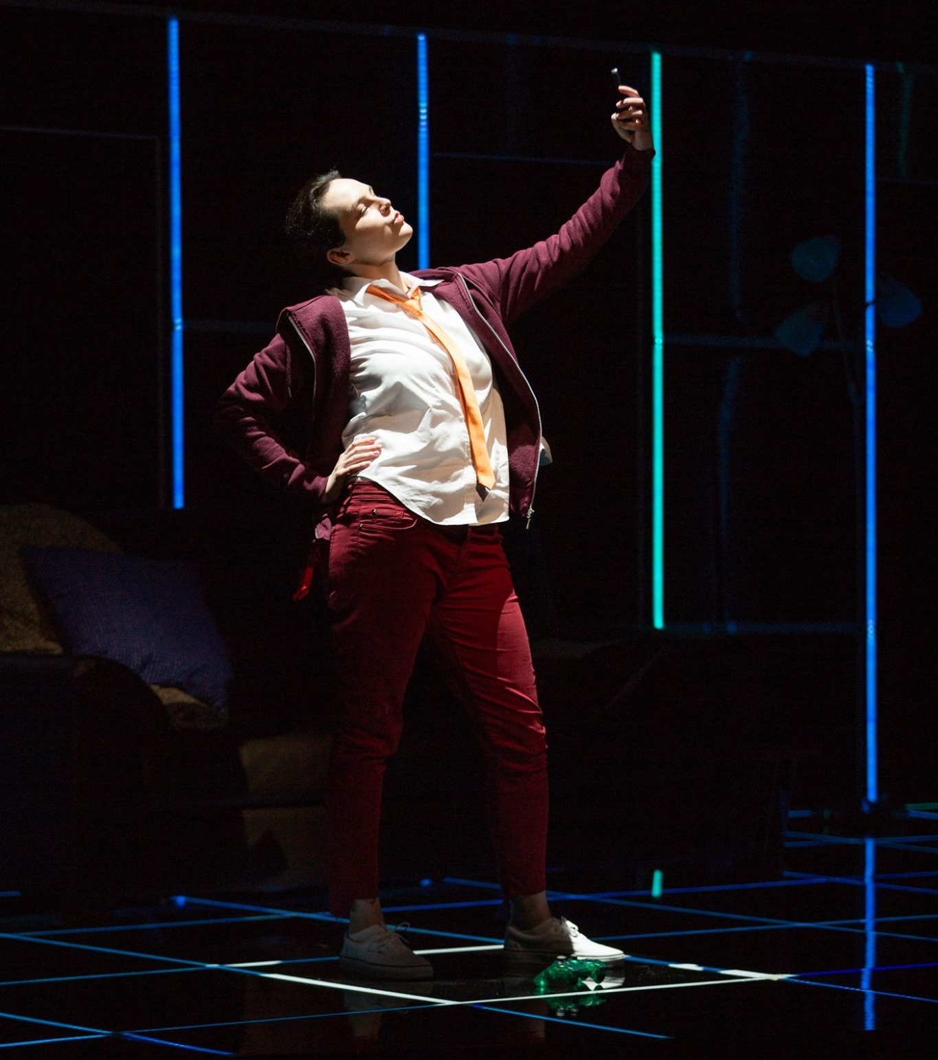 """PermaDeath - White Snake Projects 2018""""Sarah Coit, as Adonis, projected a bold stage and vocal presence.""""- Aaron Keebaugh, Boston Classical Review""""Sarah Coit's light but strong soprano imbued Adonis with a naïve bluster.""""-Opera News"""