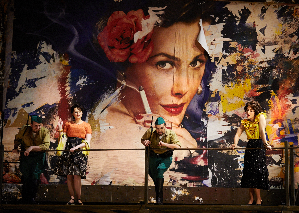 """Carmen - Seattle Opera 2019""""Two performers who got it just right were Madison Leonard and Sarah Coit. As Frasquita and Mercédès they were a perfect pair, musically well-blended yet able to shine in their solo moments. They sang well, moved fluently, looked terrific, and had just the right world-weary yet upbeat attitude.""""- John Carroll, Operawire""""As Carmen's girl group back-up singers are Madison Leonard (Frasquita) and Sarah Coit (Mercédès). They both play off of each other well and add some much needed levity to the rather bleak second act.""""- Molly Cassidy, Drama in the Hood"""