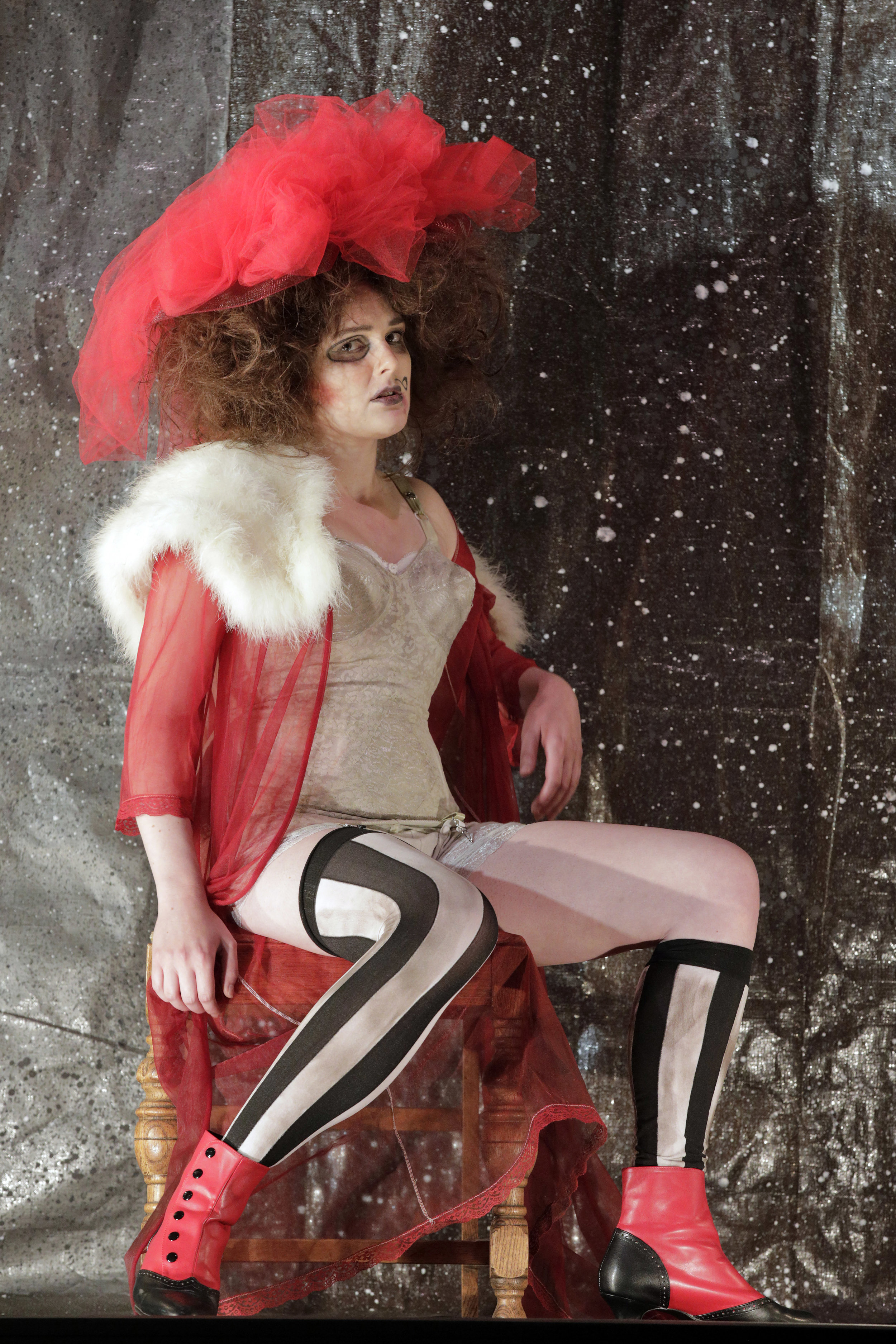 """The Threepenny Opera - West Edge Opera 2019""""Jenny Diver, performed by Sarah Coit, offered another layer of these, as well as a taste of melancholy, again, sonorous but unsentimental, strong but neither wayward nor affected. Her upper register soared at times – the lower sometimes disappeared into her chest – and her beauty coupled with genuine eros pinged the stage with genuine sensuality. She had something to say, in both words, music and performance: that was a pleasure.""""- Lois Silverstein, Operawire""""Sarah Coit was a splendid presence as the prostitute Jenny Diver, singing with a robustness that matched the character's fearlessness.""""- Joshua Kosman, San Francisco Chronicle"""
