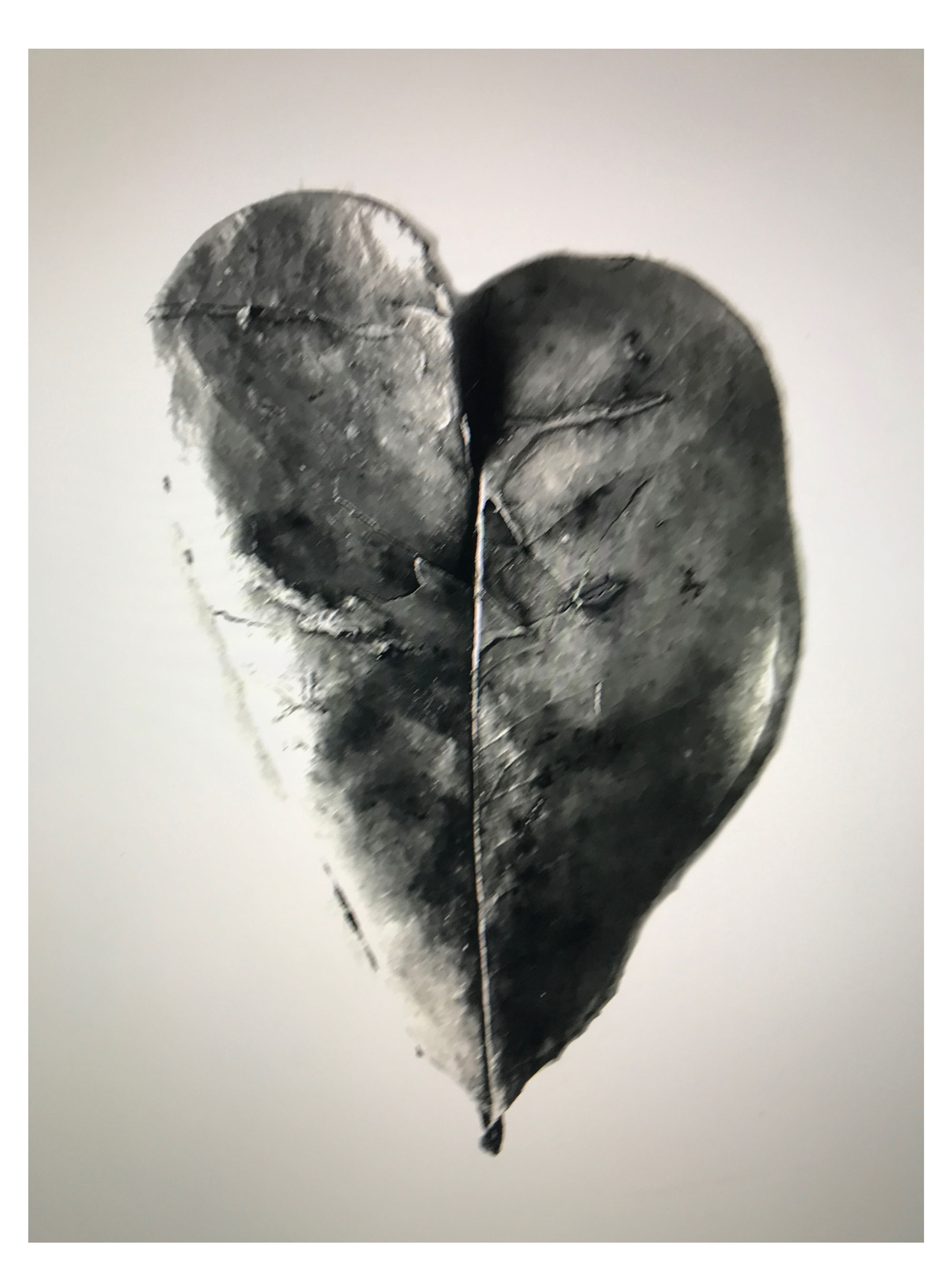 Out of focus heart, 24 November 2017