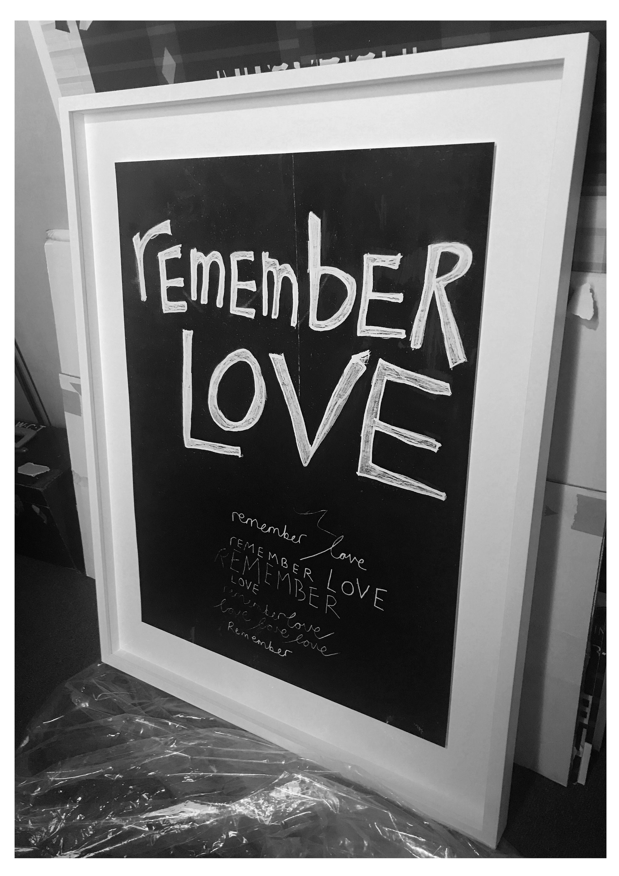 Remember love [and stardust], for J.D and A.B, December 2017