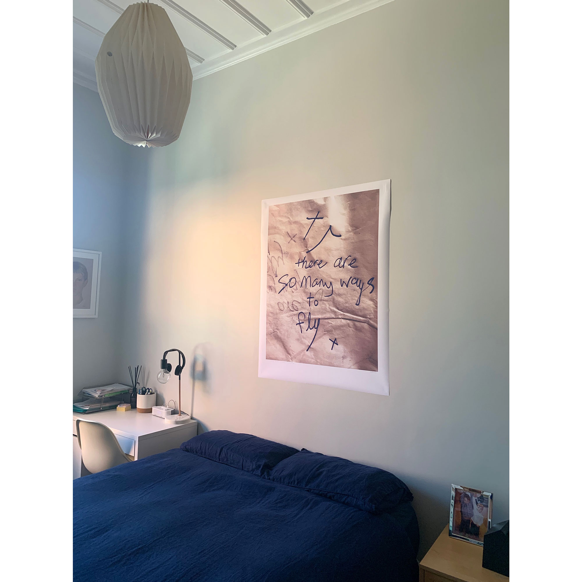 There are so many ways to fly, 2019  in Jonty's bedroom.