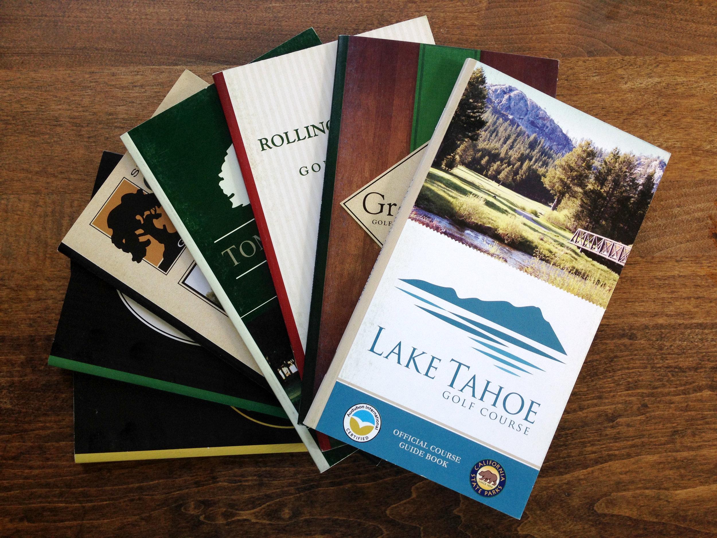 Golf Course Guide Books