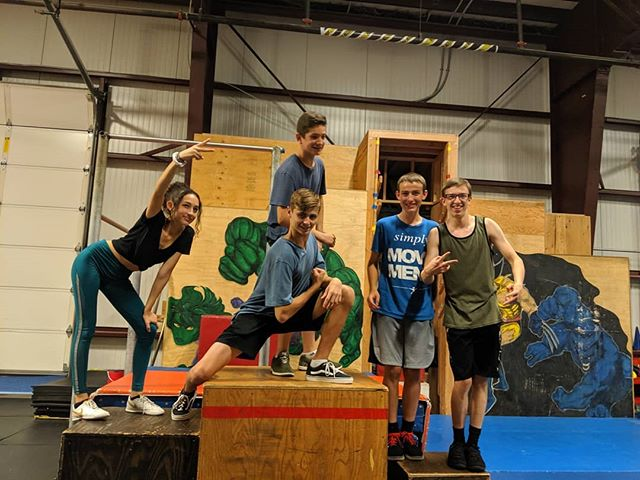 Whoa what an All Nighter we had on Friday night! Huge thanks to all the fun people who came and played and stayed up all night with us!  We held a speed comp and a style comp and here are some of the folks that made podium spots, way to go you guys! Be sure not to miss our next one, the Winter All Nighter! #parkourkids #pnw #parkour #freerunning #kids #flips #allnighter #rvpkgresham #dangerroom #nighttimetraining #parkourmunity #startthemyoung
