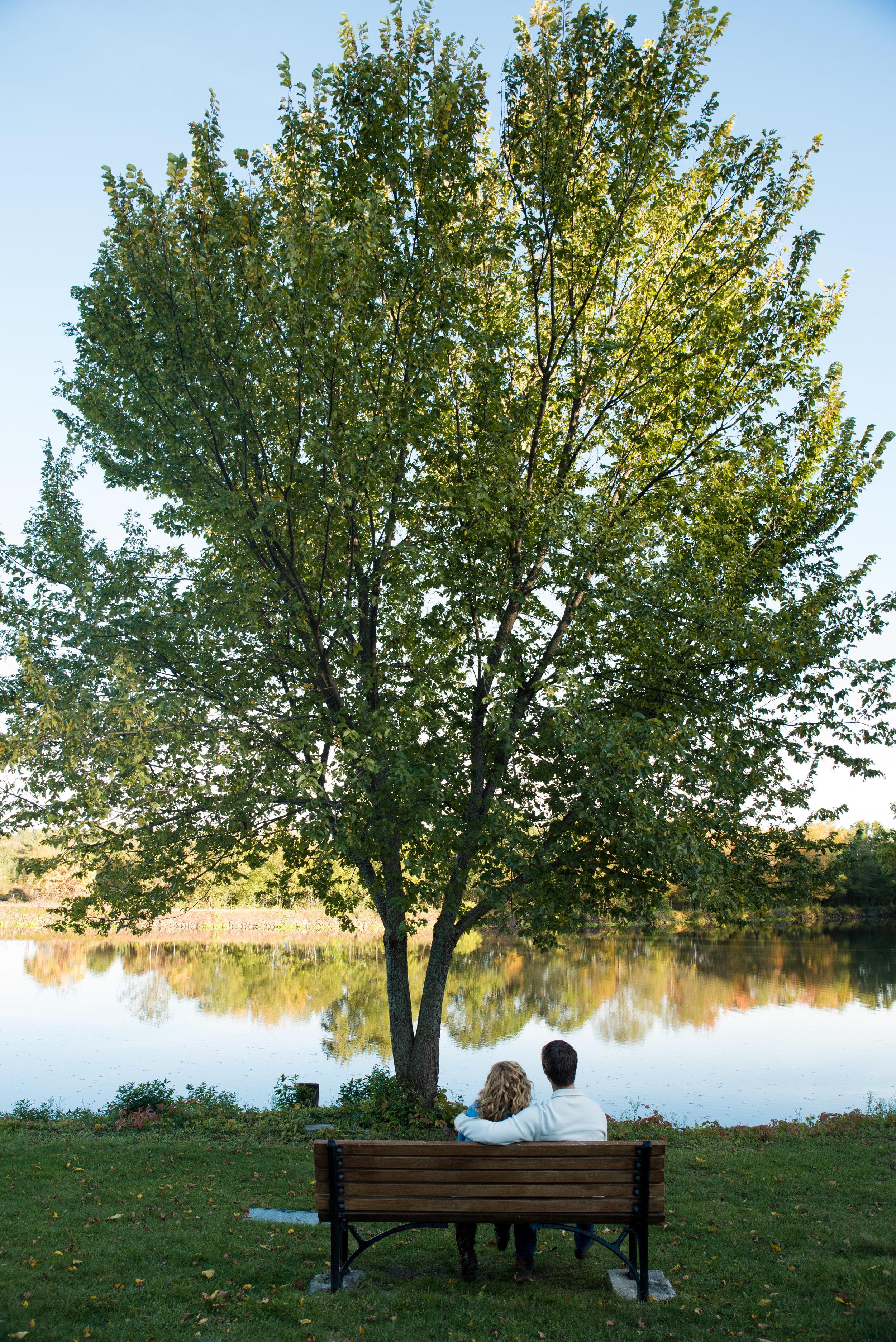 Riverbend Farm engagement photos in Uxbridge, MA photographed by Kara Emiy Krantz Photography