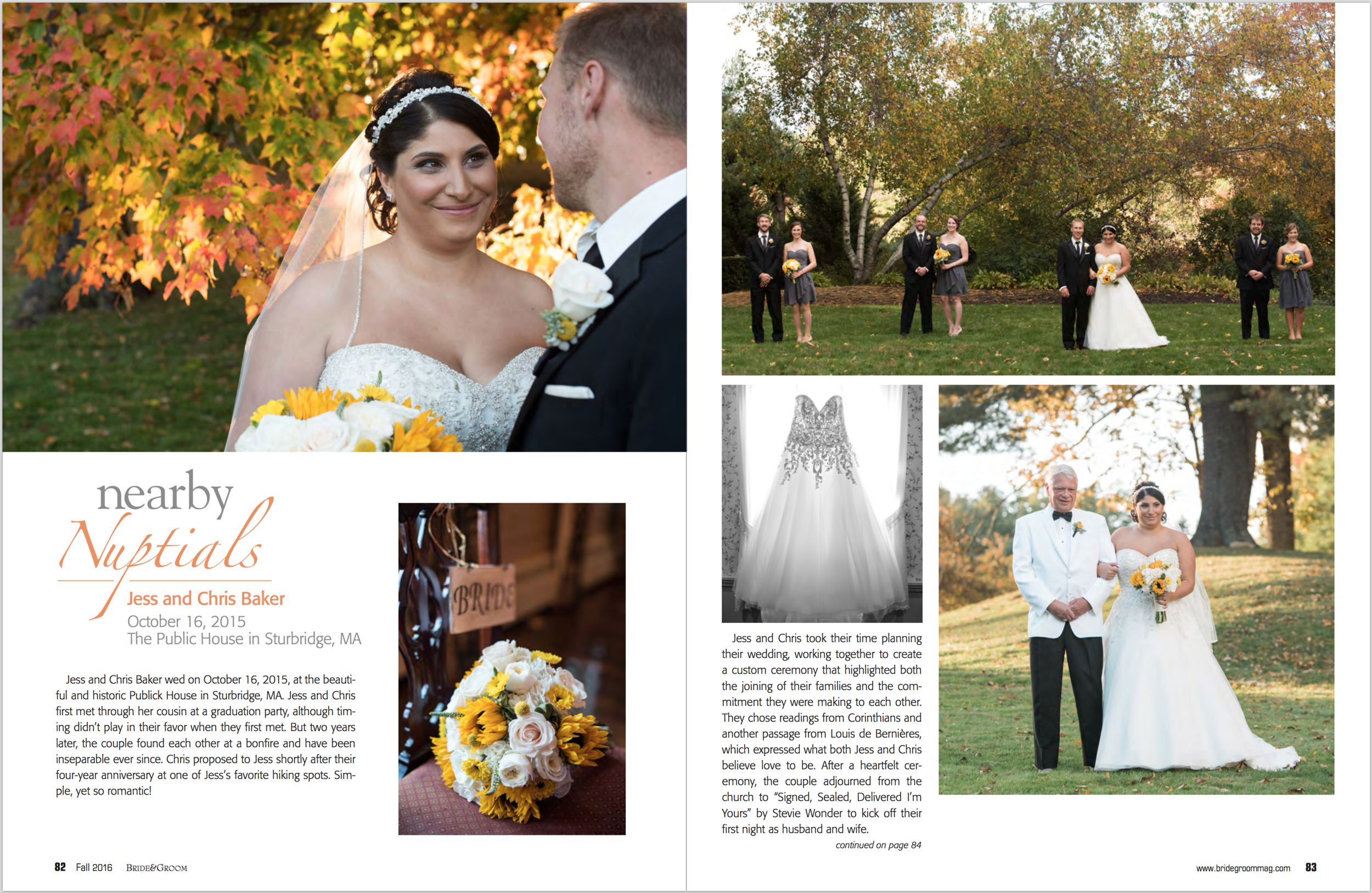 Kara Emily Krantz Photography, New England Outdoor wedding photographer featured in Bride & Groom Magazine.