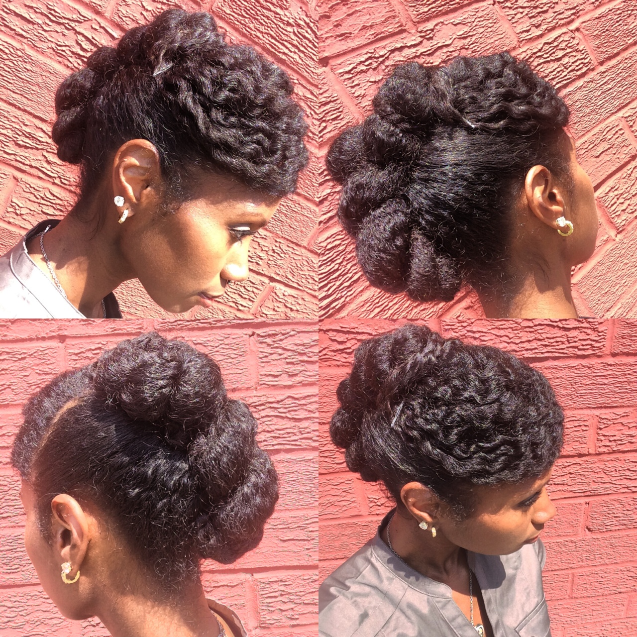 Sassy Hair    A summertime-fine updo inspired by  Mo Knows Hair.       This definitely took some wrangling & I didn't exactly love it at first. But the time it saved me this morning plus all of the compliments it got and how it held up kinda made it worth the struggle. I think I'll be practicing my updo skills this   #summer  . I can see why so many people love this style!