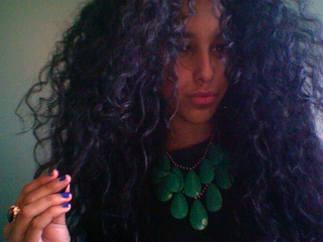 Sassy Hair     via fuckyeahcurlscurlscurls :       Amina Lula submitted by Ismahan