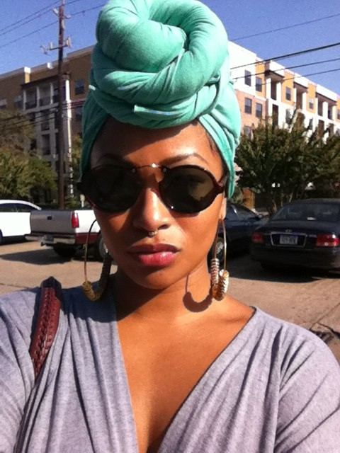 Sassy Street Style    Nothing says weekend like a turban.    Keep up with the daily fab, join Sassy Nation     http://sassynation.tumblr.com     http://www.facebook.com/TheSassyNation     http://twitter.com/#!/SassyNation