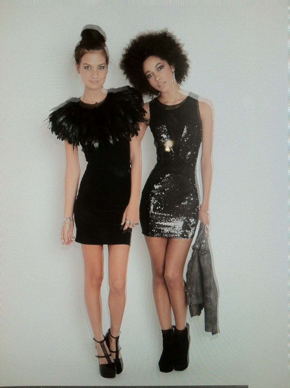 Sassy Style NYE Edition     via thenastygal :     double trouble.      Keep it sassy, join Sassy Nation     http://sassynation.tumblr.com     http://www.facebook.com/TheSassyNation     http://twitter.com/#!/SassyNation