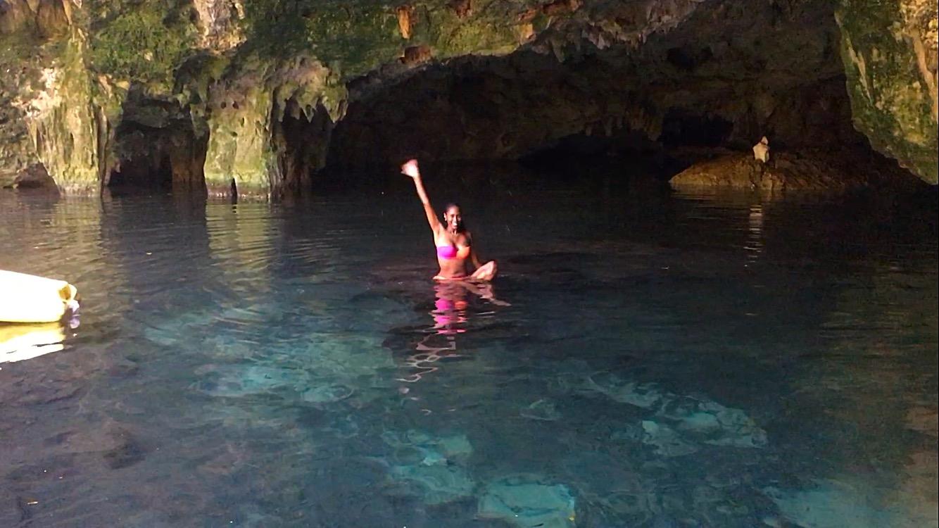 Me at Cenote El Toh