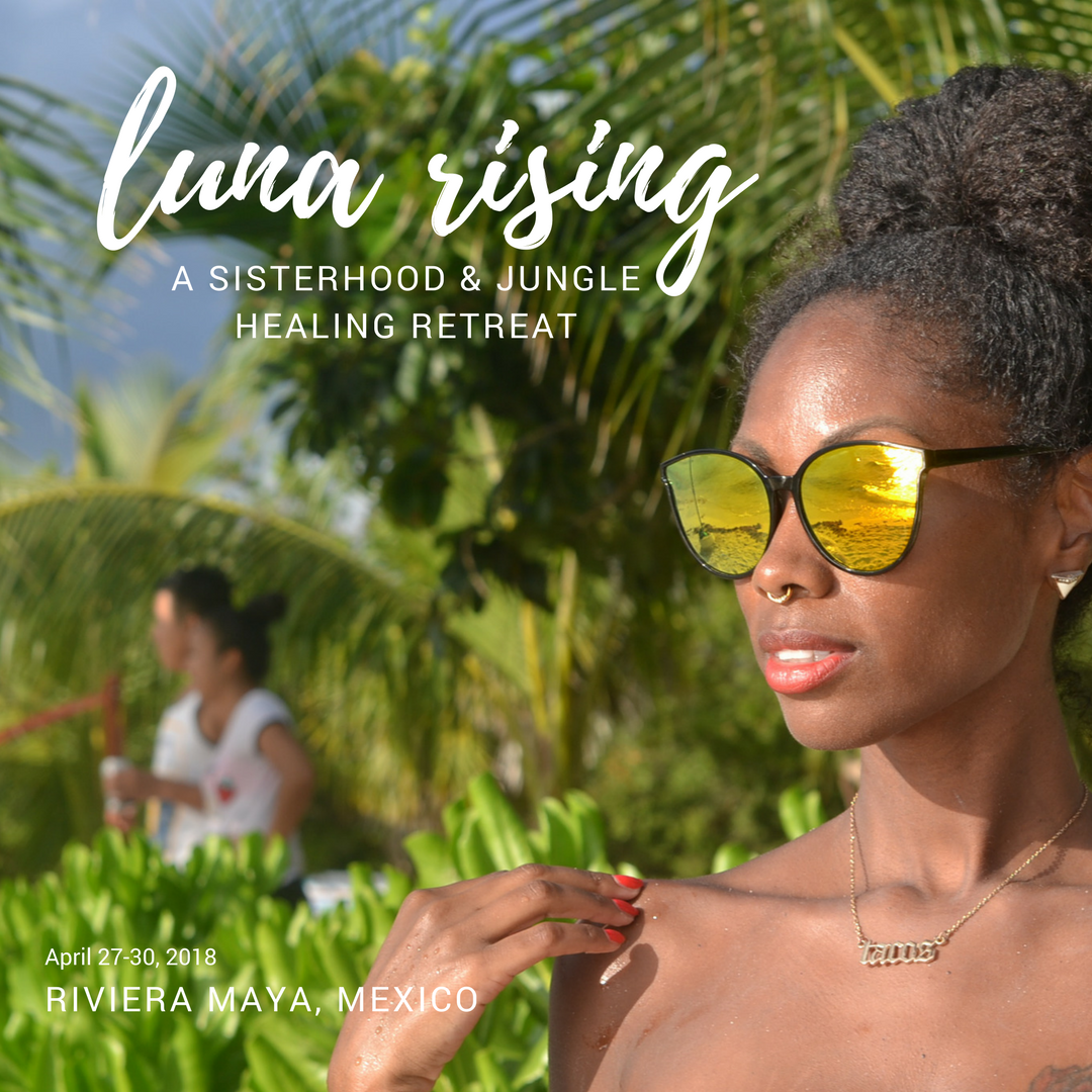 Luna Rising - Luna Rising: A Sisterhood and Jungle Healing Retreat is already halfway sold out. It's invite only, but if you take action NOW, you can still apply for the chance to fill one of the remaining spots.