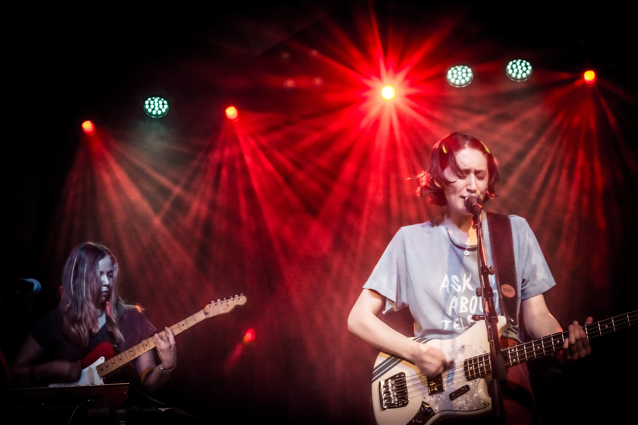 Frankie Cosmos at Alma Mater. Photo by  Dylan Sies