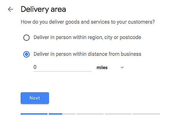 Step 3: Delivery Details (If Applicable)