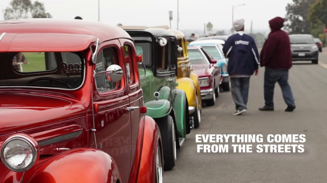 everything comes from the streets –  Alberto pulido