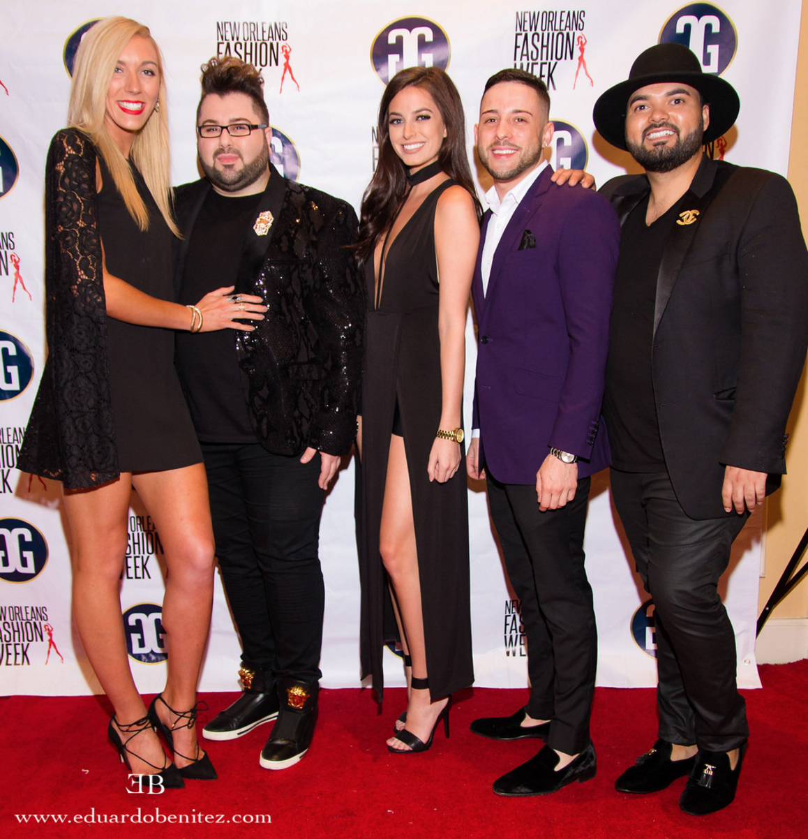 red carpet with pedram couture and friends/  photographer eduardo benitez
