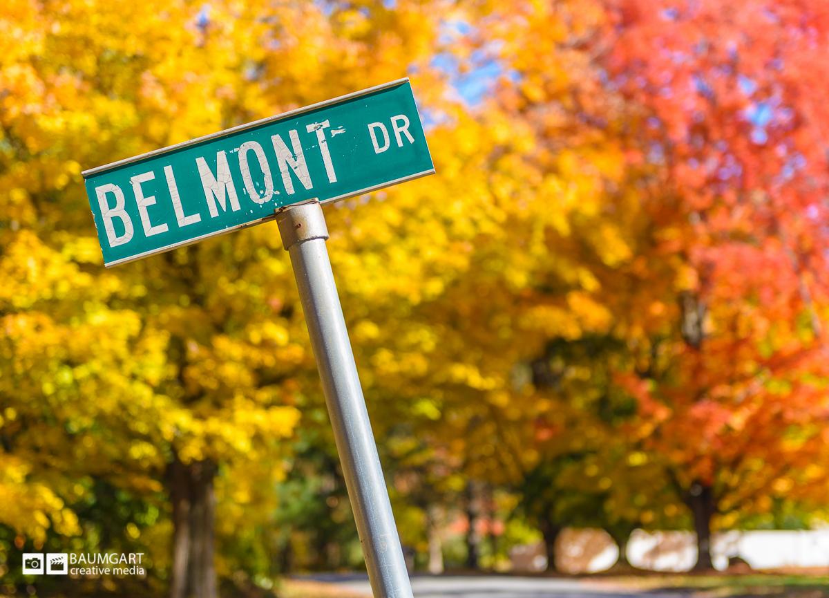 Bright New England fall foliage by Jeff Baumgart Creative Media