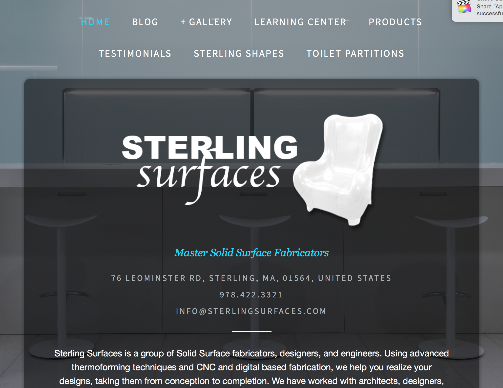 Sterling Surfaces
