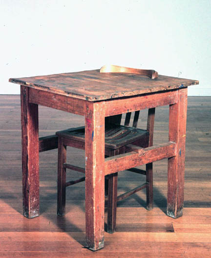 Chair and Table 1999