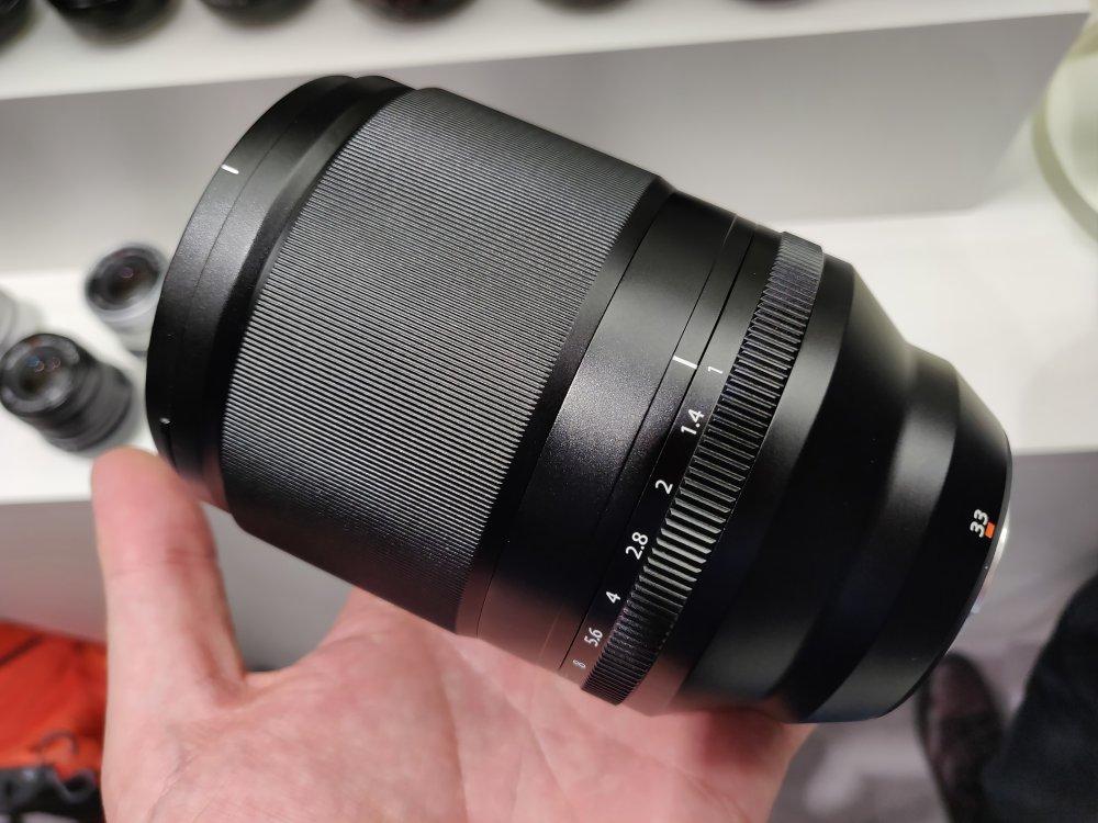 Fujifilm XF 33mm f/1 (image courtesy  ePHOTOzine )