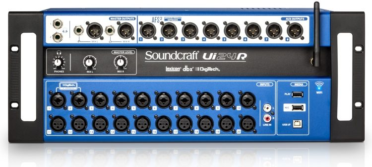 Soundcraft Ui24R digital mixer